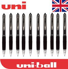 10 X 207 Uni-Ball Signo 0.7 mm Punta De Pluma De Tinta Gel Rollerball Negro Barato