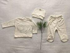 ♥ Neu ♥ Babykleidung |3-teilig|, Strampelhose, Oberteil,Mütze, |Gr. 62|