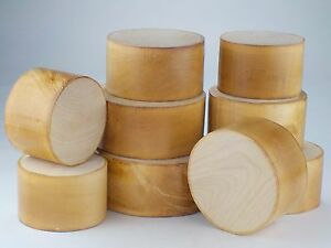 """English Sycamore wood turning bowl blanks 50 & 95mm (2"""" & 4"""") thick. WoodCarving"""