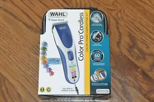 Wahl 9649 Color Pro Cordless Rechargeable Hair Clipper & Trimmer For Men/Women