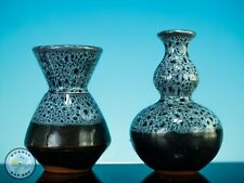 More details for  two gourd vases miniature studio pottery