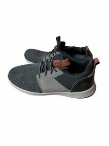 SKECHERS 65474W/BKGY DELSON CAMBEN BLACK/GREY MF Shoes size 8