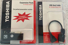 TOSHIBA USB Expansion Pack for Pocket PC Compatible with e740 & USB Host Cable