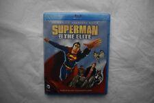 Superman vs The Elite Animated Region Free NEW 2 Disc Digital HD + DVD + Blu Ray