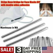 "1000PCS 3.35"" (8.5mm) Aluminum Metal Strip Nose Bridge Wire for DIY Lot"