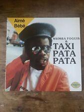 New listing Nsimba Foguis & Taxi Pata Pata Aime Bebe LP Nyirangongo 1988