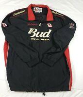 VTG Budweiser Dale Earnhardt Jr Chase Authentics 2XL Nascar Jacket #8 Black Red