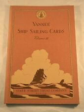 YANKEE Ship Sailing Cards 1952 State Street Company Vol.III Maritime Color Illus