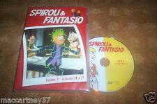 DVD BD SPIROU & FANTASIO VOLUME 5 EPISODES 18 A 21