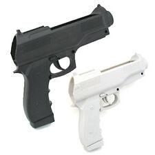 New 2x Light Gun Pistol Shooting Video Game for Nintendo Wii Remote Controller