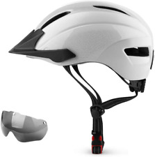 SUNRIMOON Bike Helmet Men Women, Bicycle Cycling Helmet with Light and Removable