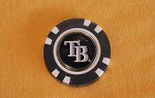 MLB, Tampa Bay TB Rays, Baseball, Golf Ball Marker Poker Chip      NEW