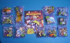 Burger King 1998 - Rugrats Movie - Complete Set of 12 MIP plus Brochure