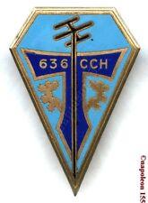 TRANSMISSION. 636 eme Compagnie de Cables Hertziens,CCH. G. 1394. Fab. Drago Par