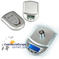 BILANCIA BILANCINO DIGITALE LCD DI PRECISIONE DIAMOND DA 0,1 g. A 500 g SCALE