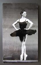 Fotografia ballerina CARLA FRACCI con autografo TEATRO ALLA SCALA danza balletto