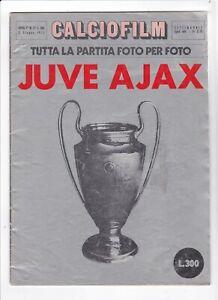 1973 EUROPEAN CUP FINAL Ajax v Juventus (Official Juventus Calcio Film Edition)
