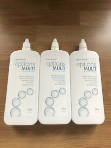 CooperVision Options Multipurpose Contact Lens Solution 3 x 250ml