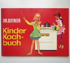Dr. Oetker KINDER KOCHBUCH 7.Auflage 1977 Rezepte Puppenküche Kochen Backen gut