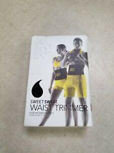 Sports Research Sweet Sweat Waist Trimmer Belt - Medium - Yellow