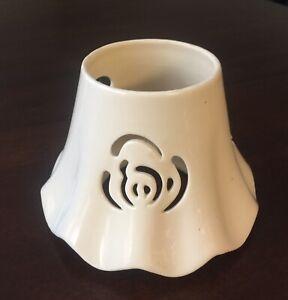 Cream Beige Candle Jar Shade Ceramic