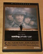 Saving Private Ryan Dvd 1999 Widescreen Special Edition Stephen Spielberg Film