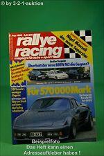 Rallye Racing 8/86 BMW M3 DB 190 Ford Cosworth Porsche