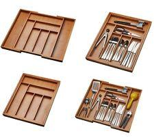 Silverware Utensils Drawer Organizer Utensil Expandable Tray Kitchen Flatware
