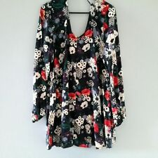 Cotton Blend Tunic Floral Tops for Women