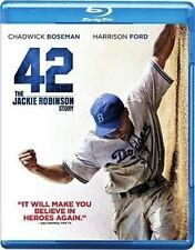**BRAND NEW** 42: THE JACKIE ROBERSON STORY (Blu-Ray, 2013)