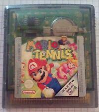 Video Gioco Retro Game Boy Color Advance SP Nintendo PAL Loose Mario Tennis
