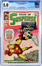 Tales of Suspense #49 (1964) CGC 5.0, Mint Case! 1st X-MEN CROSSOVER!