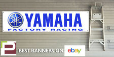 Yamaha Factory Racing Workshop Garage Banner, YZR500, YZF-M1