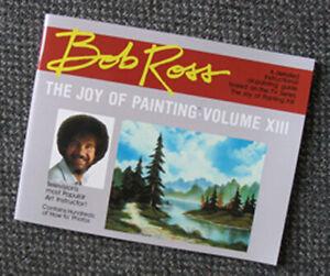 BOB ROSS INC. R013 BOB ROSS JOY OF PAINTING VOLUME 13