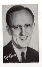 Kay Kyser 1940's-50's Mutoscope Music Corp of America Arcade Card Postcard
