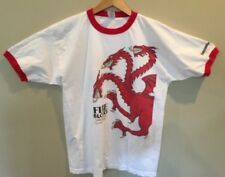 GAME OF THRONES Shirt XL Fire and Blood Targaryen Dragon Design Ent Weekly Promo