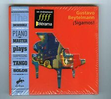 CD (NEW) GUSTAVO BEYTELMANN I SIGAMOS