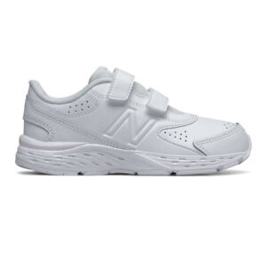 New Balance Boys 680v6 Running Shoes Trainers Sneakers White Sports Breathable