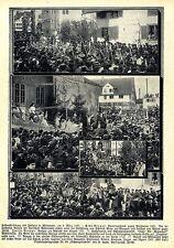 Fastnacht & Festspiel in Wädenswil ( Schweiz ) Historische Aufnahmen von 1908