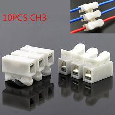 10PCS CH-3 Primavera Conector tornillo soldadura alambre Terminal cable