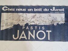 Ancienne banderole pastis