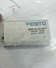 12mm x 10mm Coup Compact Cylindre Festo ADVC-12-10-I-P-A