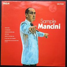 Rare SAMPLE MANCINI jazz soundtracks LP 1970 Two for the Road A Shot in the Dark