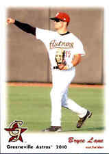 2010 Greeneville Astros Grandstand #19 Bryce Lane Phenix City Alabama AL Card