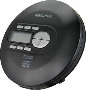 Memorex - Portable CD Player - Black