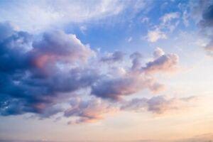 VLIES FOTOTAPETE Selbstklebende TAPETEN XXL Wohnzimmer Wolken Himmel Sonne 2348