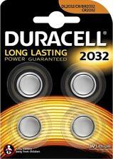 4 x Batterien Duracell ( 1 x Blister )  CR2032 Lithium 3V Knopfbatterie Neu