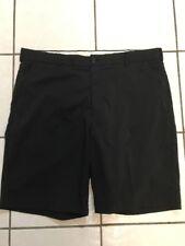 GREG NORMAN Shark Stretch Black Flat Cargo Golf Shorts size 40. 02020415