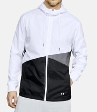 Under Armour Unstoppable Windbreaker Jacket Full Zip Hooded Men's Size 2XL NWT