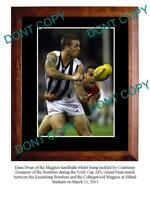 DANE SWAN COLLINGWOOD FC STAR LARGE A3 PHOTO PRINT 2